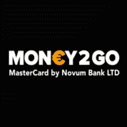 Money2go prepaid Mastercard