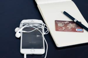 aanvraag van een creditcard